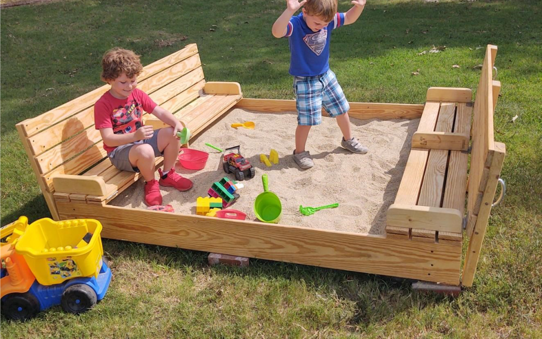 AMENITY UPDATE: Albemarle Plantation has a sandbox NOW!